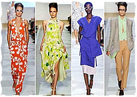 Модные тенденции весны/лета 2012: фасоны и силуэты (фото)