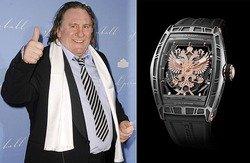 Депардье выпустил часы, которые назвал «Горд быть русским»