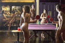 Чемпионат по «голому» пинг-понгу прошёл в Британии