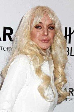 Линдси Лохан опять себя запустила