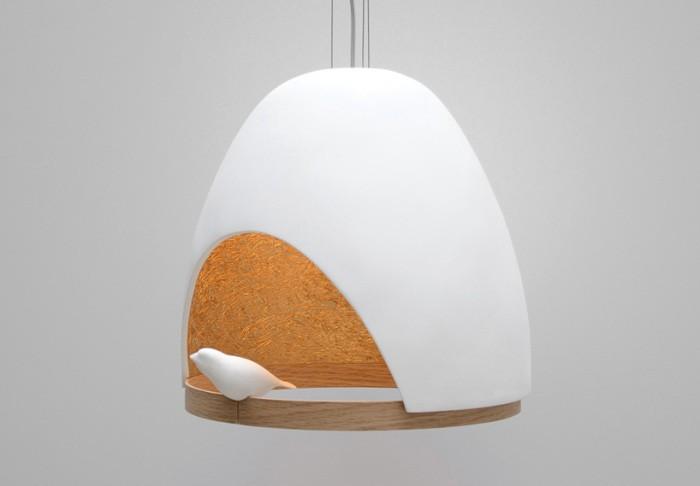 Светильник - дом для маленькой птички