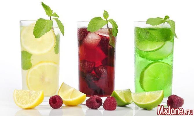 Напитки летом