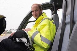Принц Уильям спас жизнь человеку