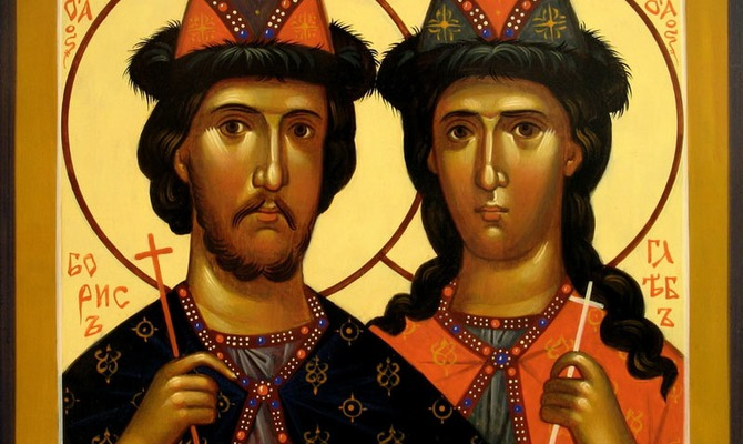 6 августа – День святых князей Бориса и Глеба