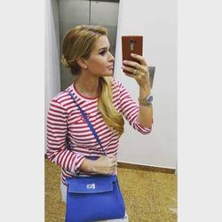 Ксения Бородина хвасталась в Инстаграме подделкой сумки Hermes