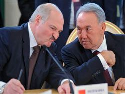 Лукашенко и Назарбаев поспорили о качестве молока