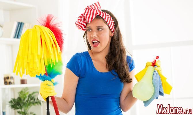 Как эффективно убрать квартиру