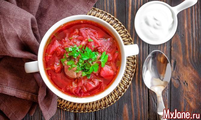 Вегетарианский борщ: секреты хорошего вкуса