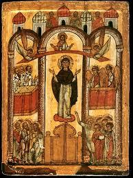 """Молитва пред иконой Божией Матери """"Покров Пресвятой Богородицы"""""""