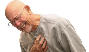 При за грудинной боли