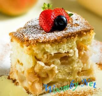 Шарлотка с яблоками. Вкусные рецепты для всех!