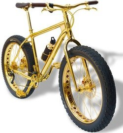 Компания House of Solid Gold создала самый дорогой велосипед в мире