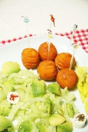Рецепты Австралийской кухни: Шарики из мяса страуса в беконе