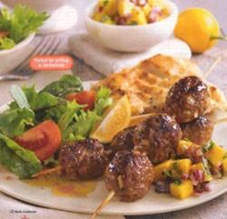 Рецепты Австралийской кухни: Шашлык из мяса страуса