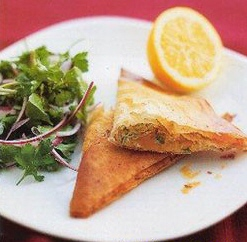 Рецепты Австралийской кухни: Запеканка из сухарей с соком и фруктами
