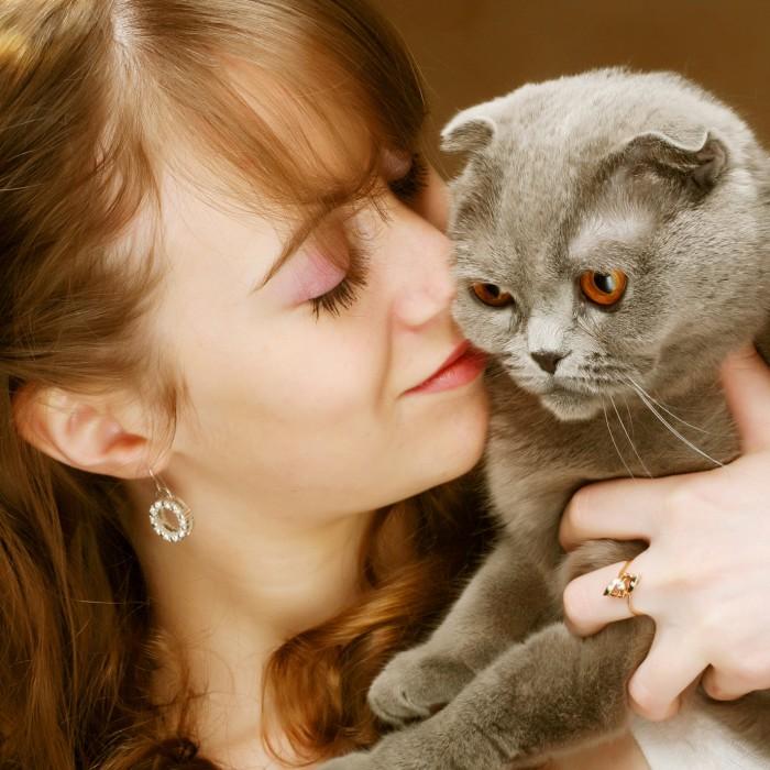 У владельцев кошек повышается риск развития глаукомы