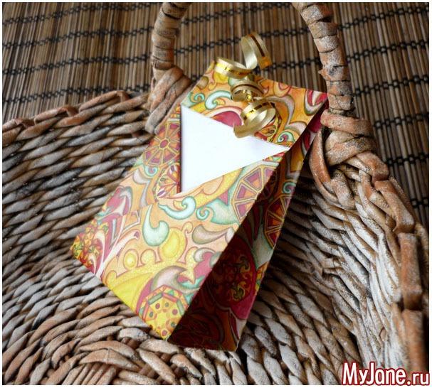 Teabag или сумочка для чая. Второй вариант