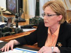 Скворцова: свиной грипп идет на Россию со стороны Украины