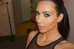 Ким Кардашян уже сбросила 19 кило после беременности