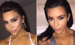 Ким Кардашян встретилась со своим канадским двойником