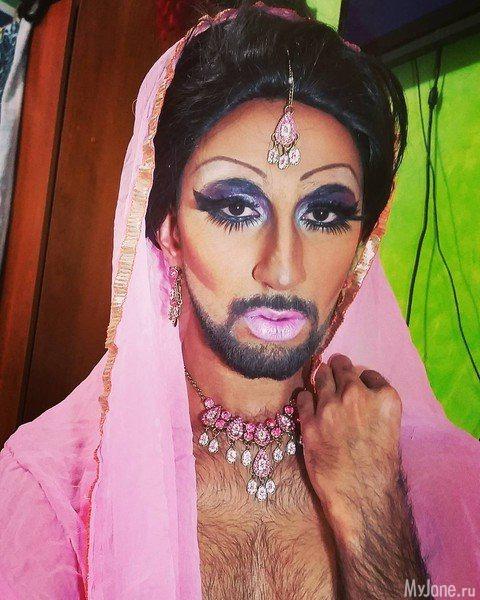 Кончита стала вдохновительницей «бородатого» тренда
