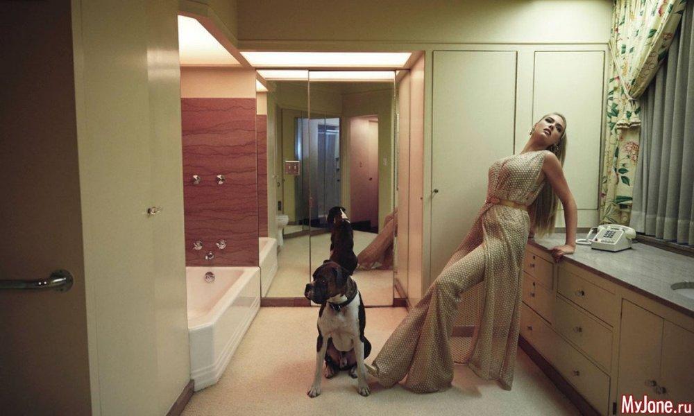 Кейт Аптон показала, как должна выглядеть домохозяйка (фото)