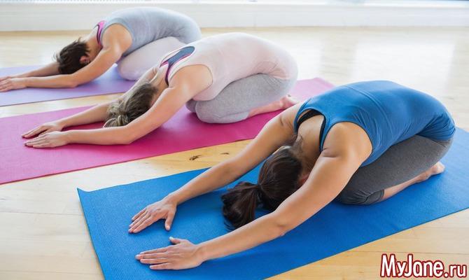 Йога во время месячных: польза или вред?