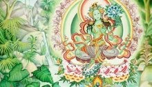 Мантра зелёной тары - «Прикоснись к тайнам настоящего и будущего»