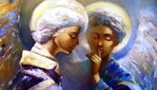 Притча «Ангел и счастье» - «Прикоснись к тайнам настоящего и будущего»