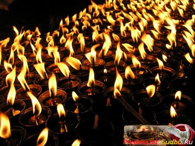 Приворот на 40 свечей - «Привороты»