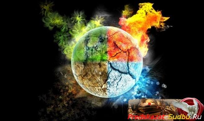 Шкатулка элементов - «Общая Магия»