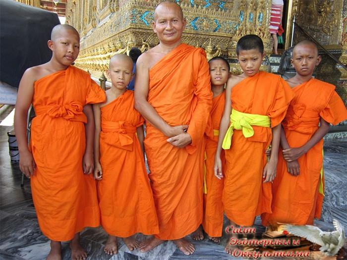 Одежда буддийских монахов - «Эзотерика»
