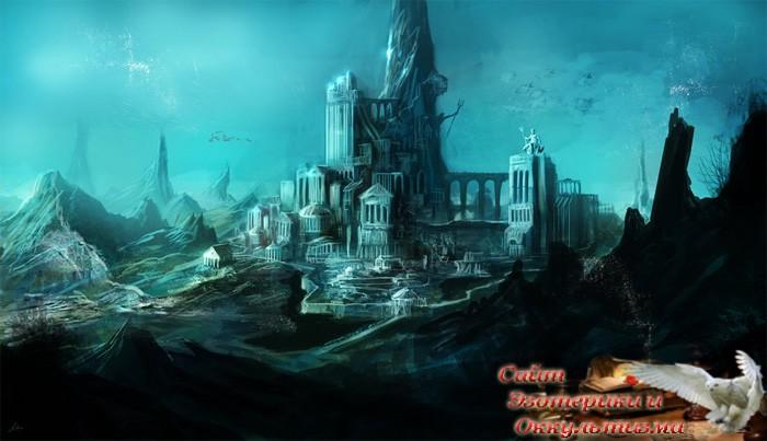 Приход темного мага. Гибель Атлантиды и Посейдониса - «Эзотерика»