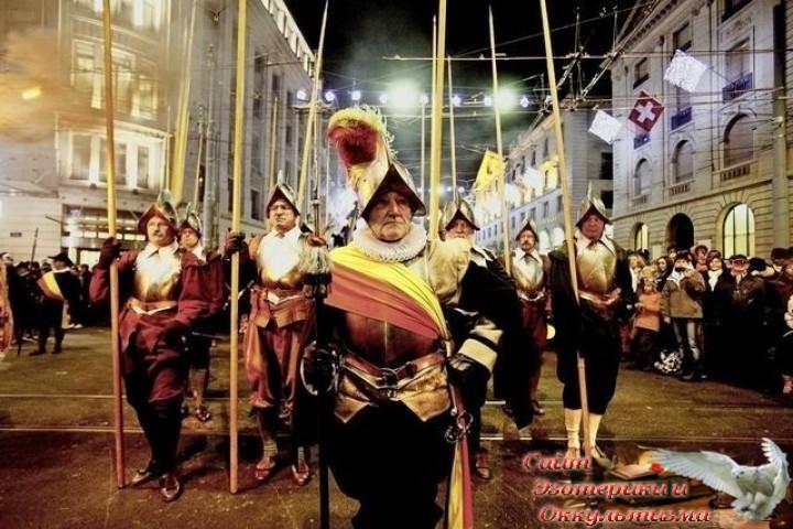 История или завуалированная магия? Женевский праздник Escalade. Эзотерика - Живое Знание - «Эзотерика»