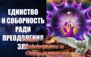 Единство и Соборность ради Преодоления Зла. Эзотерика - Живое Знание - «Эзотерика»